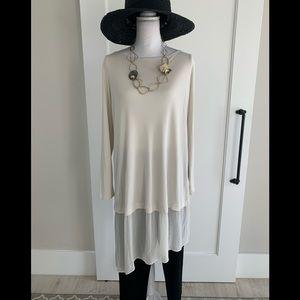 Eileen fisher all silk tunic
